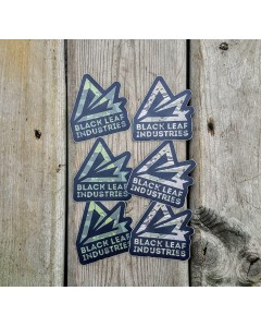 Black Leaf Industries Multicam Sticker